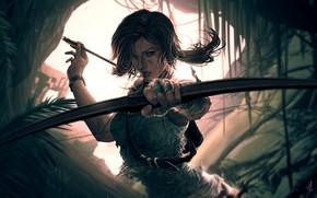 Picture Tomb Raider, Lara Croft, Characters, Lara, by Hue Vang, Hue Vang