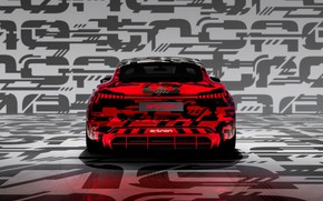 Picture Audi, coupe, 2018, feed, e-tron GT Concept, the four-door