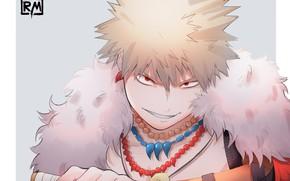 Picture look, smile, guy, My Hero Academia, Boku No Hero Academy, Bakugou Katsuki, My Hero Academy, …