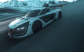 Picture Auto, The game, Machine, Renault, Car, Driveclub, Game Art, by JREEL *, JREEL *, Polar …