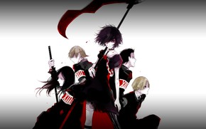 Picture anime, art, characters, RWBY