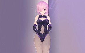 Picture girl, sexy, cleavage, pink hair, boobs, anime, beautiful, short hair, pretty, erotic, swimsuit, breasts, attractive, …