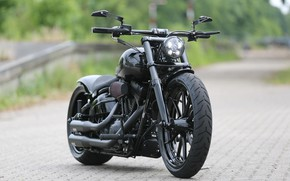 Picture Bike, Harley-Davidson, Custom, Thunderbike