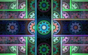 Picture pattern, texture, symmetry