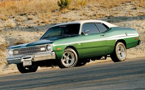 Picture Muscle, Coupe, Vehicle, Plymouth Duster