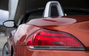 Picture headlight, BMW, Roadster, 2013, feed, E89, BMW Z4, Z4, sDrive35is