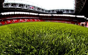 """Picture Grass, Football, Moscow, Russia, Arena, Lawn, Spartacus, Spartak, Open Arena, Spartak Stadium, """"Spartacus Arena"""", Opening, ..."""