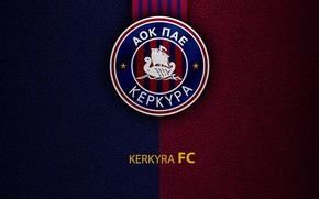 Picture wallpaper, sport, logo, football, Greek Super League, Kerkyra