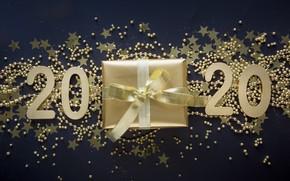 Picture stars, gift, new year, decoration, 2020, Svetlana Cherruty