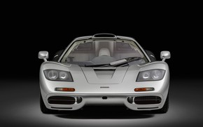 Picture McLaren, Lights, 1993, McLaren F1, Sports car, Sports car