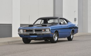 Picture Muscle, Dodge, Car, Classic, Blue, Old, Demon, Dodge Demon GSS