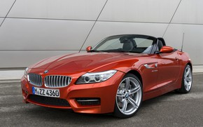 Picture BMW, Roadster, the wall, 2013, E89, BMW Z4, Z4, sDrive35is