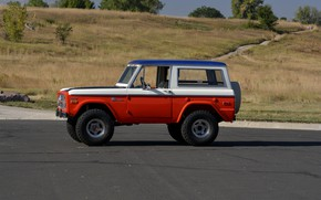 Picture Ford, 1971, side view, Wagon, Bronco, Baja Edition, Stroppe