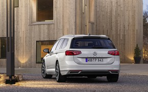 Picture Volkswagen, universal, GTE, feed, Passat, Variant, 2019