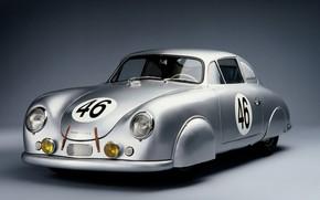 Picture Race, Retro, Porsche 356, Cooupe