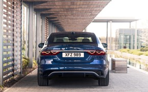 Picture Jaguar, sedan, feed, Jaguar XF, 2020, XF, под навесом