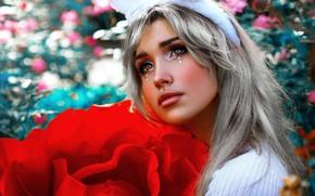 Picture look, girl, makeup, Geo Leon