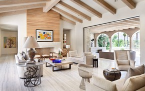 Picture Villa, interior, living room, Home in Palm Springs