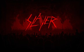 Picture metal, logo, band, slayer, thrash metal, concert