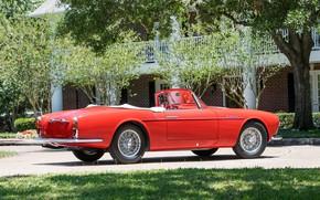 Picture Maserati, Spokes, Classic, Chrome, 1956, Classic car, Maserati A6G/2000 Gran Sport Spyder