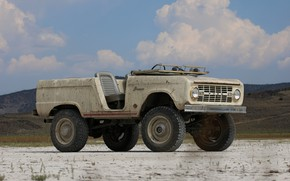 Picture tuning, Ford, 1966, outdoor, 2018, Bronco, ICON Bronco Derelict Roadster