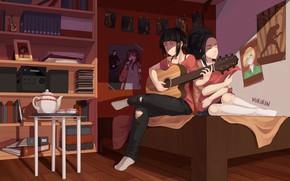 Picture girls, room, My Hero Academia, Boku No Hero Academy, My Hero Academy