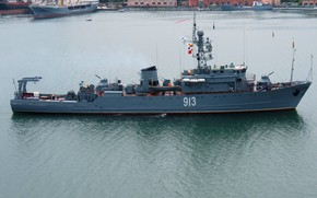 Picture sea, minesweeper, project 266m, Kovrovets