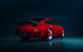 Picture red, car, TURBO, PORSCHE 930