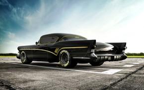 Picture Auto, Retro, Machine, Car, Rendering, Buick, Roadmaster, Buick Roadmaster, Transport & Vehicles, Benoit Fraylon, by …