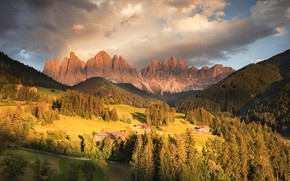 Picture forest, mountains, photo, home, meadow, Italy
