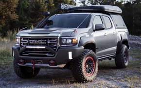 Picture power, SUV, the concept, power, SUV, exterior, exterior, 2021, GMC Canyon AT4 Ovrlandx Concept, GMC …