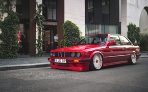Picture BMW, E30, BBS, Stance, 3-Series