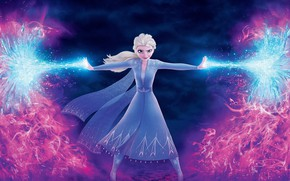 Picture cartoon, cartoon, Frozen, Elsa, Elsa, Cold Heart, Cold heart 2