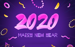 Picture background, Christmas, New year, New Year, 2020