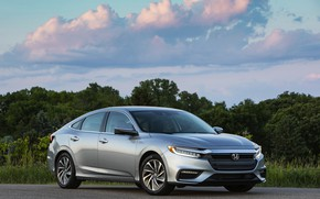 Picture clouds, Honda, sedan, Hybrid, Insight, hybrid, Touring, four-door, 2019