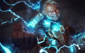 Picture man, armor, Legends of Runeterra