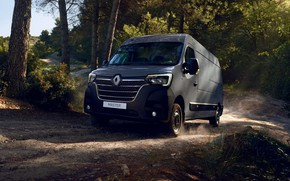 Picture forest, Renault, van, Master, 2019, the coroner van