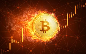 Picture flame, fire, schedule, bitcoin, bitcoin