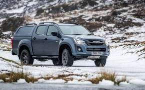 Picture pickup, 2018, Isuzu, Huntsman, D-Max, UK version, double cab
