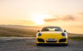 Picture 911, Porsche, front view, Coupe, 2018, Carrera T