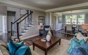 Picture Villa, interior, living room, dining room