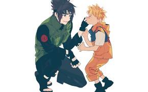 Picture boy, guy, Naruto, Naruto, Sasuke Uchiha, Naruto Uzumaki