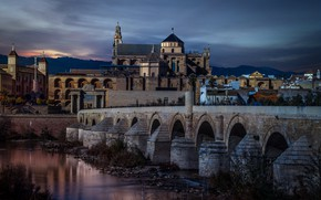 Picture Spain, Andalusia, Cordoba, Roman Bridge, Vista Alegre