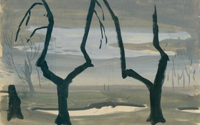 Picture Untitled, Charles Ephraim Burchfield, Study for Evening Star 01