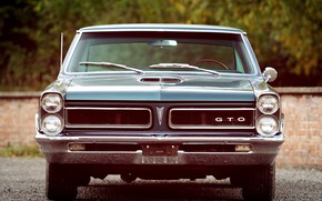Picture Front, Pontiac, GTO