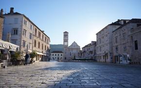 Picture the city, area, Croatia, Gvar