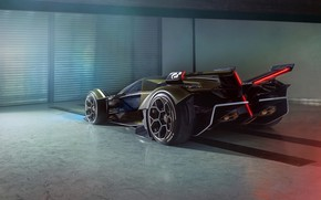 Picture Lamborghini, Wheel, The concept car, Lambo, Drives, V12, Wing, Vision Gran Turismo, 2019, Lambo V12 …