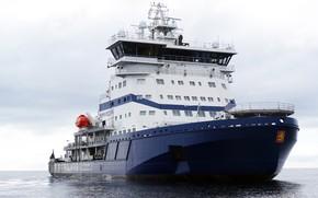 Picture The ocean, Sea, Icebreaker, The ship, Technique, Polaris, Tank, Offshore, Supply Ship, Icebreaker, M/V Polaris