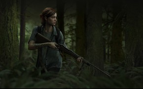 Wallpaper Naughty Dog, Game, The Last of Us Part II