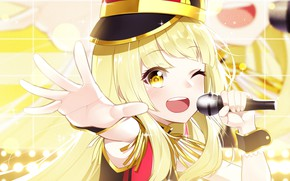 Picture Girl, Blonde, Smile, Bang Dream!